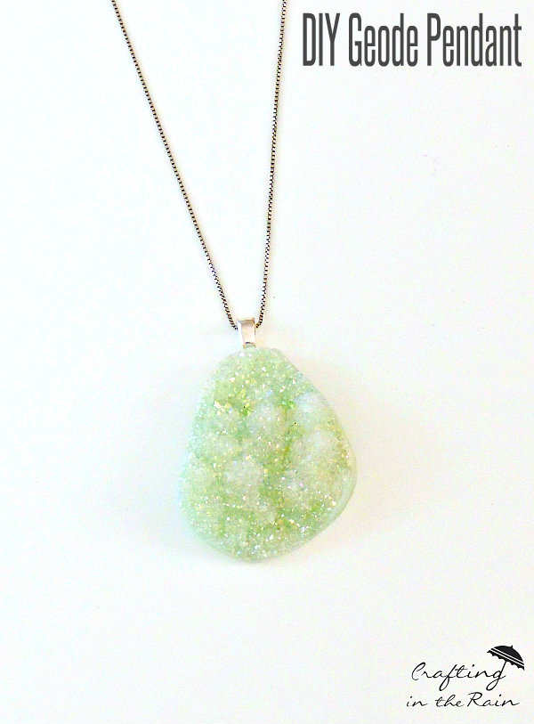 How to make your own pendants light images light ideas easy geode pendant necklace crafting in the rain bridal jewelry make your own mangalsutra interchangeable bridal jewelry make your aloadofball Image collections