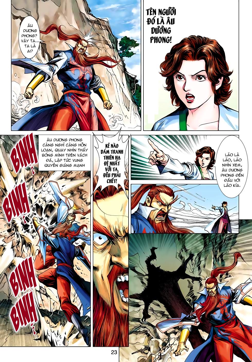 Xạ Điêu Anh Hùng Truyện chap 100 – End Trang 23 - Mangak.info