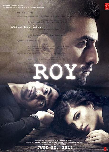 Roy,Upcoming Movie,Ranbir Kapoor, Arjun Rampal,First Look,Movie Poster