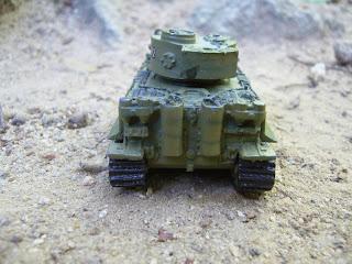 colección de carros de combate en miniatura Tiger I