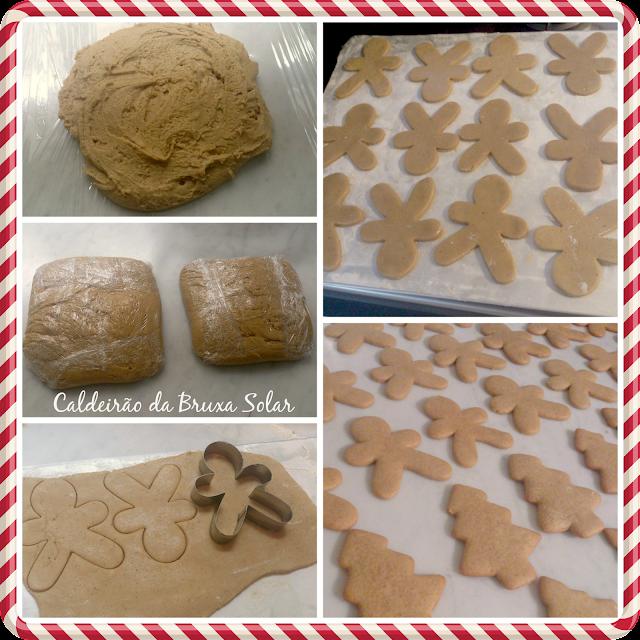 Biscoitos Gingerbread