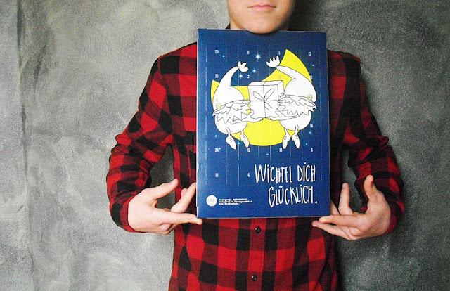 Wichtel dich glücklich, mit frauschoenert's Schoko-Adventskalender
