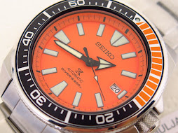 SEIKO DIVER SAMURAI ORANGE DIAL - SEIKO SRPC07 - AUTOMATIC 4R35 - BRAND NEW WATCH