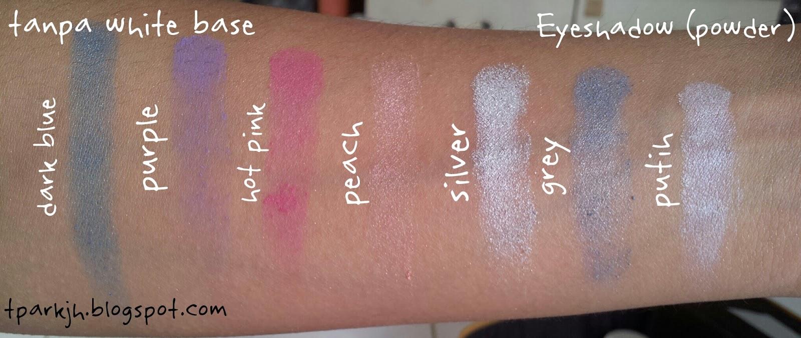 Review Viva Eyeshadow In Viva Cosmetic Palette