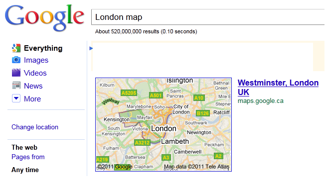 Map Of London Postcodes. London (Westminster London) is
