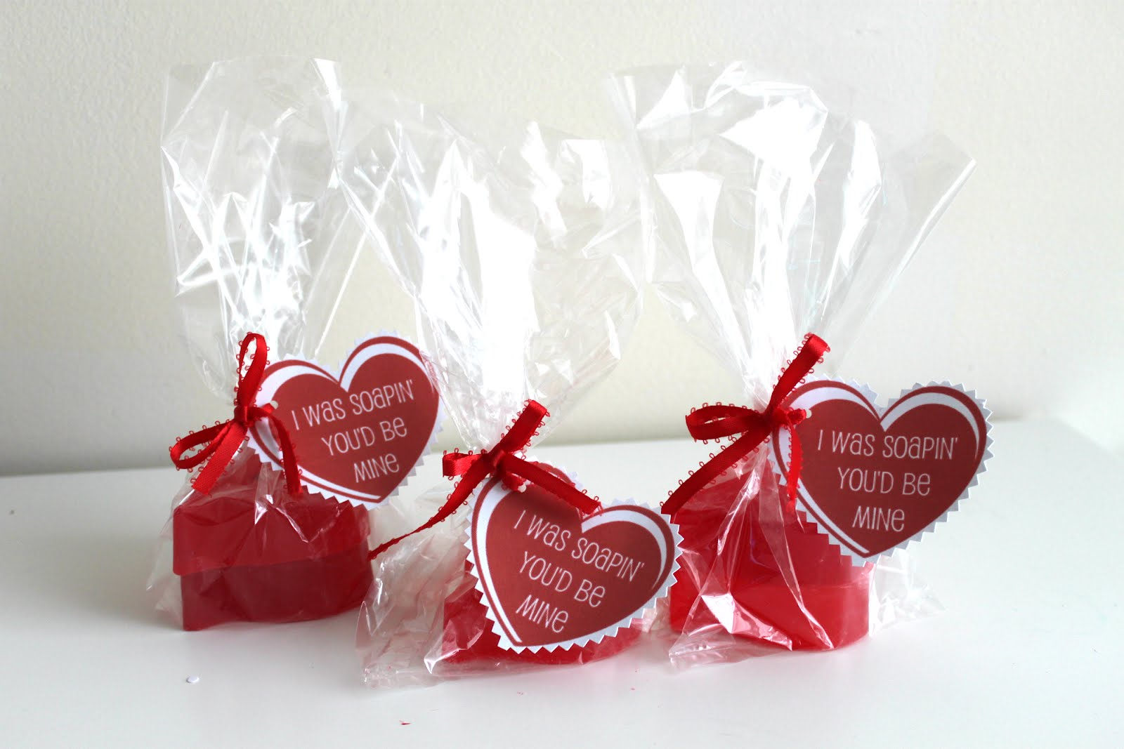 ... soaps would make a great Valentine gift for co-workers or friends