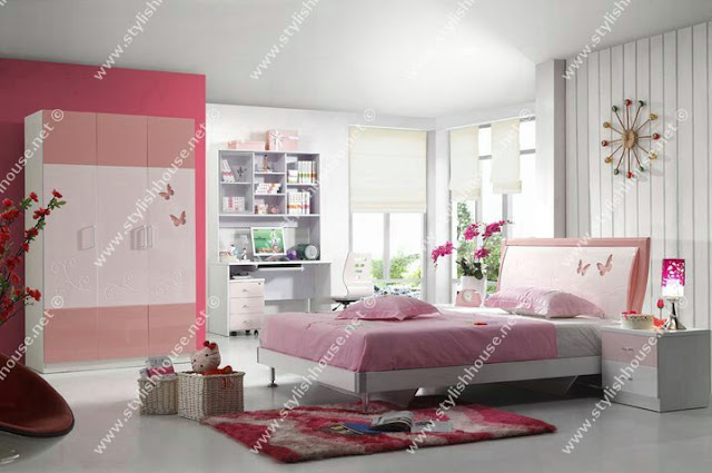 Stylish Butterfly bedroom for little princesses