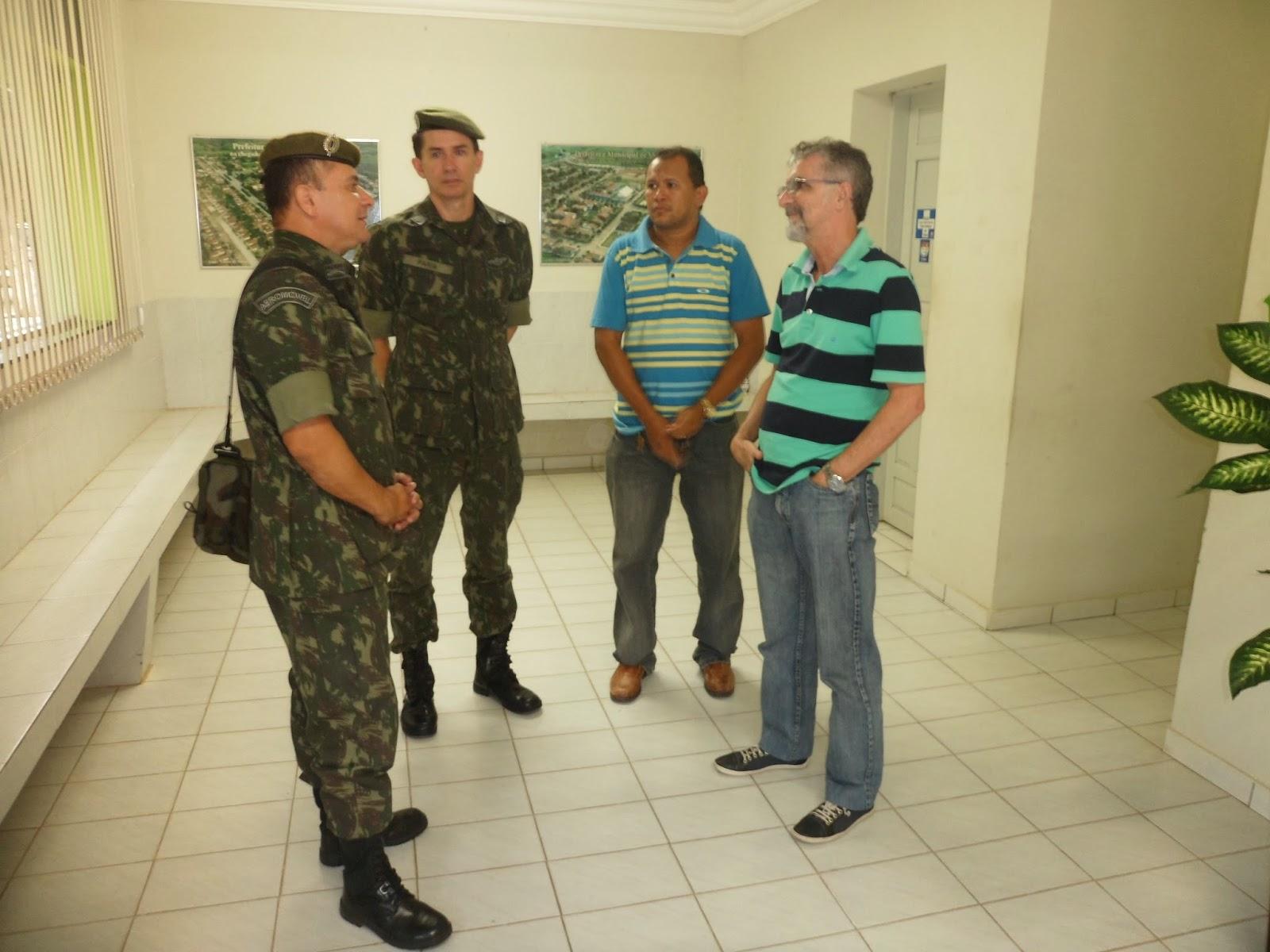 SECRETARIA DE SERVIÇOS MILITARES DE VIÇOSA (MARCOS ROBERTO), REALIZA ...