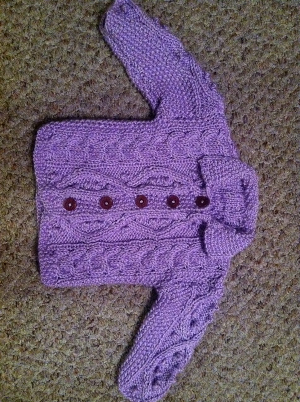 Knitting Vintage Things : All things delightful baby sweater plus vintage knitting tips