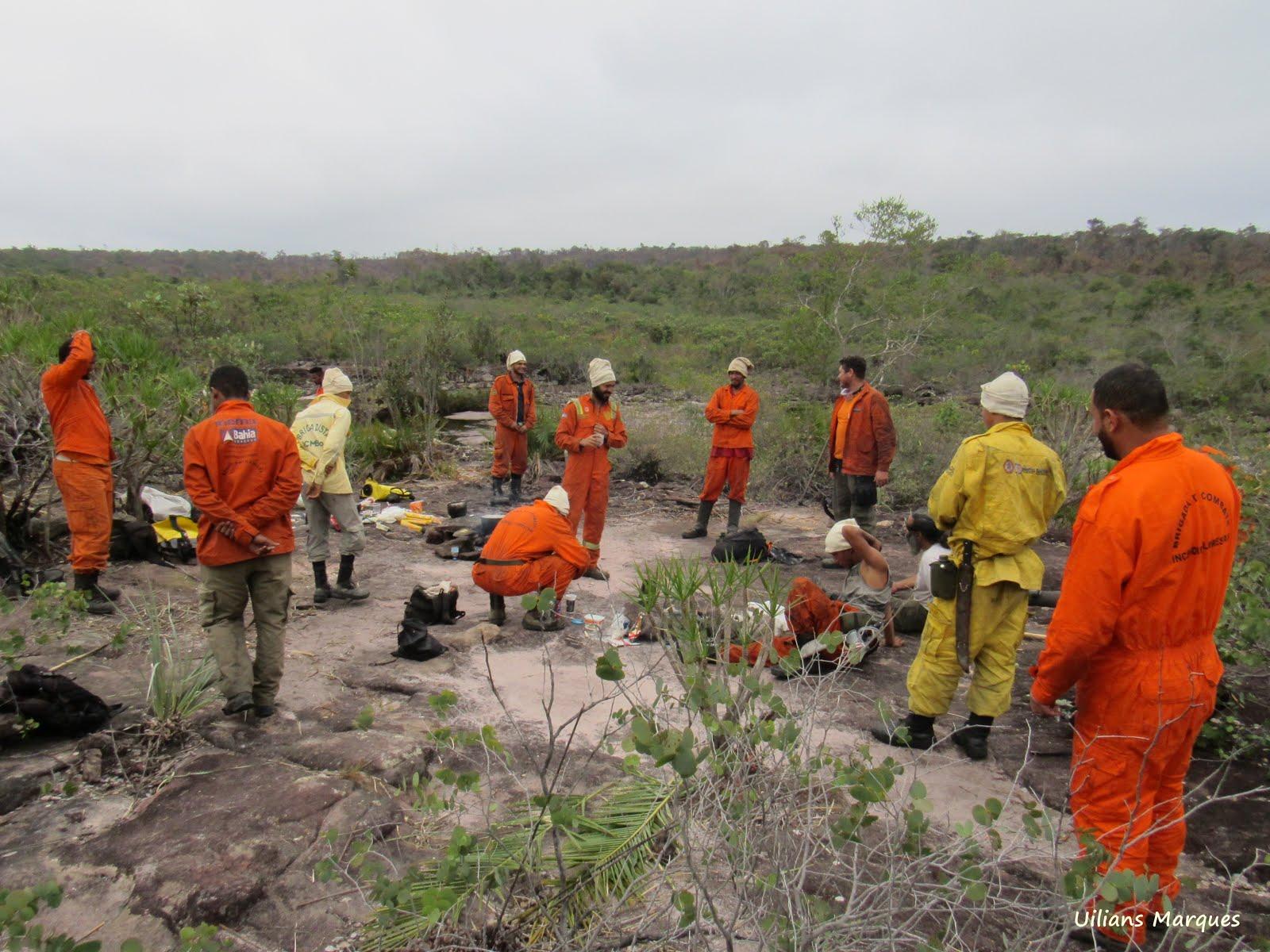 Brigada Voluntária (fotos)