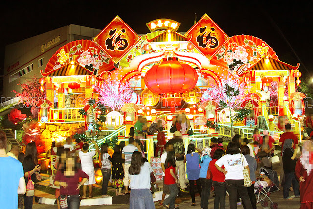 Chinese New Year 2013 Big Display in Brunei Darussalam - Jyppe A ...