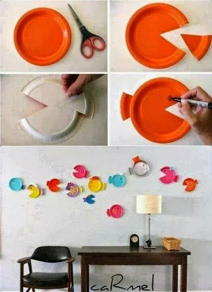 #T26 DIY: Cuadros con Platos Desechables