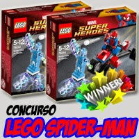 imagen de los set Lego Spider-Man que regalabamos