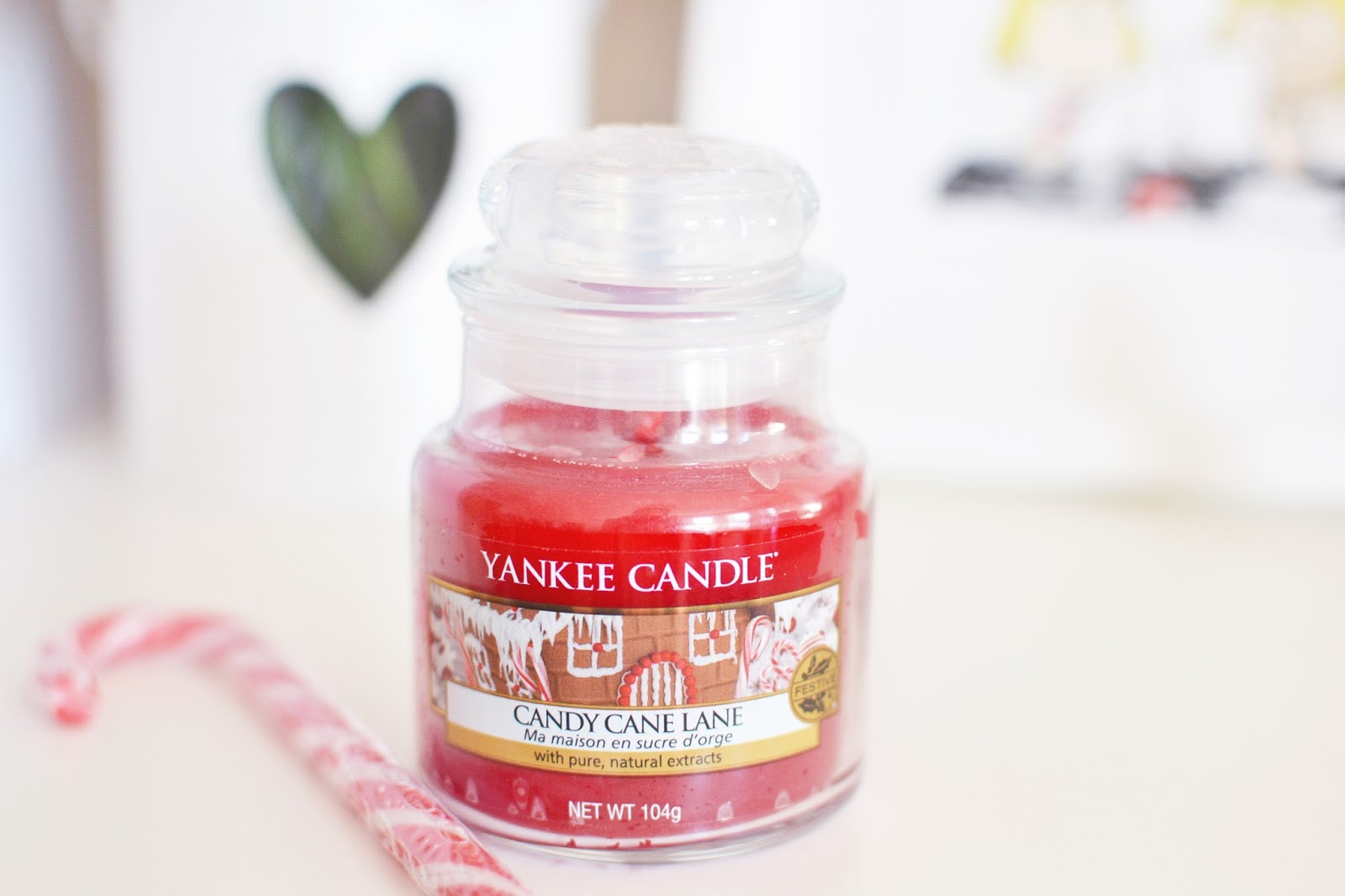 yankee candle candy cane lane