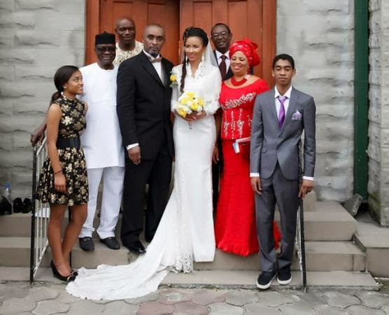 Ibinabo Fiberesima Shares More Breathtaking Photos From Her Wedding