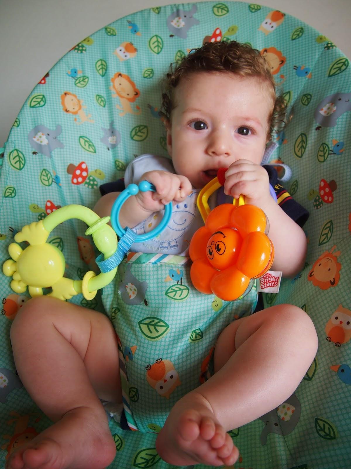 Aprendiendo a jugar con mi beb - Juguetes para bebes de 2 meses ...