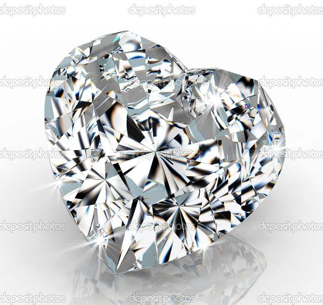 Бриллиант в форме сердца