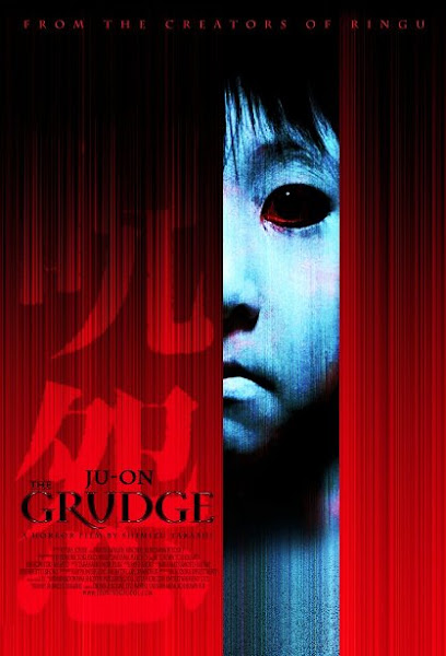 Poster Of Ju-On The Grudge 2002 720p UnCut Hindi BRRip Dual Audio