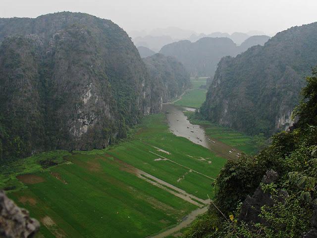 Le pic de Hang Mua, Vietnam