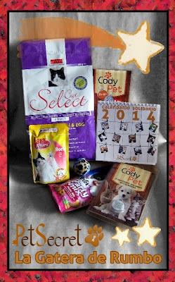 Caja PetSecret para gatos. Diciembre 2013