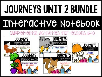 Journeys Interactive Notebook Bundle
