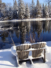 Winter at the lake