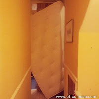 stuck mattress