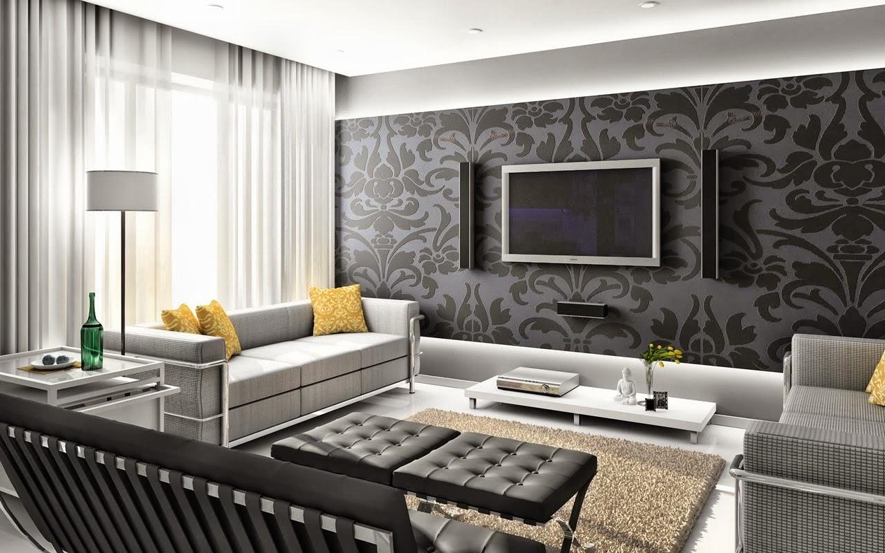 Minimalist Interior Furniture for Family Room Decor Ideas