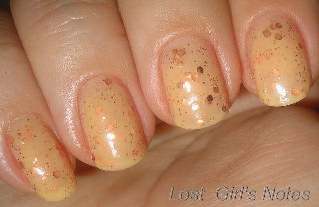 whimsical ideas by pam georgia peach fuzz swatches