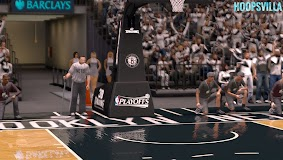 NBA 2k14 Stadium Mod : Playoff Edition - Brooklyn Nets - Barclays Center