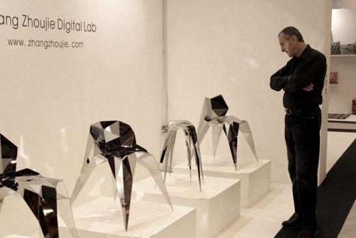 Zhang ZhouJie - Exposição das cadeiras