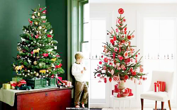 Potted Christmas Tree Interior Design Inspirations For