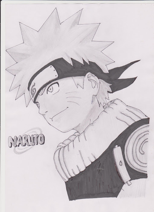 dibujo de naruto, imagen para facebook, portada