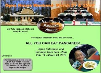 3-7/8 Hamilton's Pancake House
