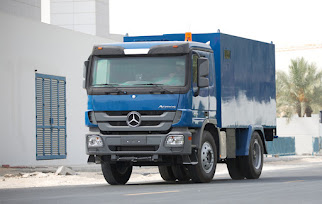 Armored Mercedes Actros CIT