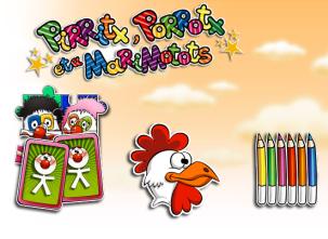 Actividades para Educación Infantil: Juegos de payasos PIRRITX