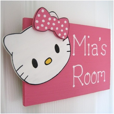 Hello Kitty Bedroom Decorations