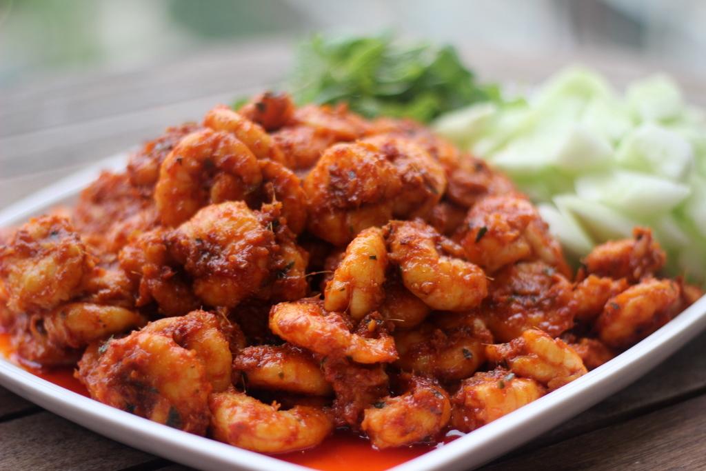 ... - Inspiring Home Cooks: Auntie Ruby's Sambal Prawns (Sambal Udang