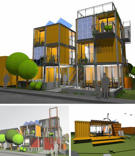 Crunchygreenliving shipping container architecture - Container home architects ...