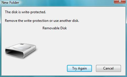 how to force a pen drive which wont open