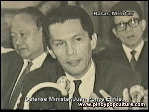 Juan Ponce Enrile, Defense Minister, martial law, Proclamation No. 1081, Kilusang Bagong Lipunan, Citizens' Assemblies, barangay