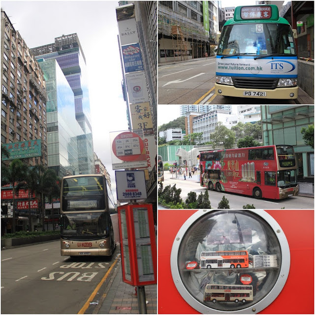 Public Bus transportation is popular in Hong Kong