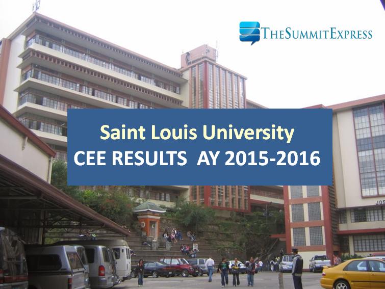 SLU CEE 2015 results