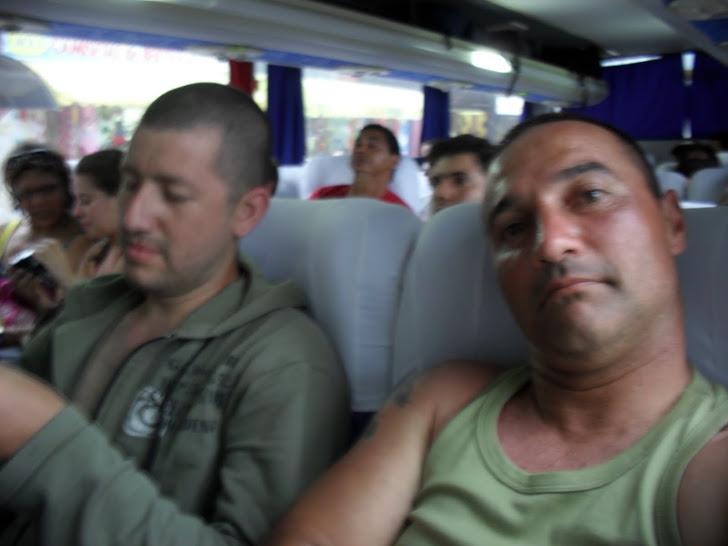 Retornando Para casa de Bus