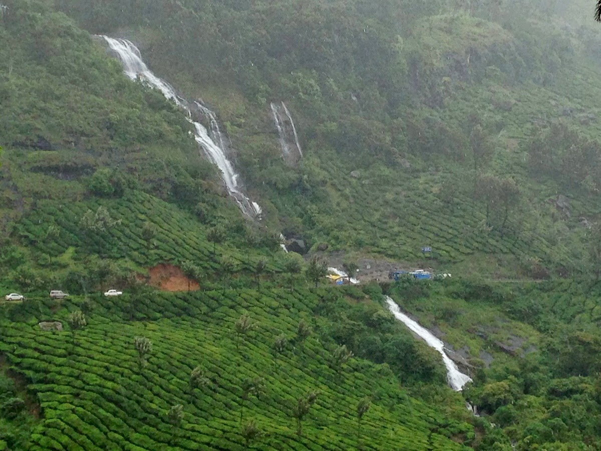Munnar Chinnakanal Waterfalls