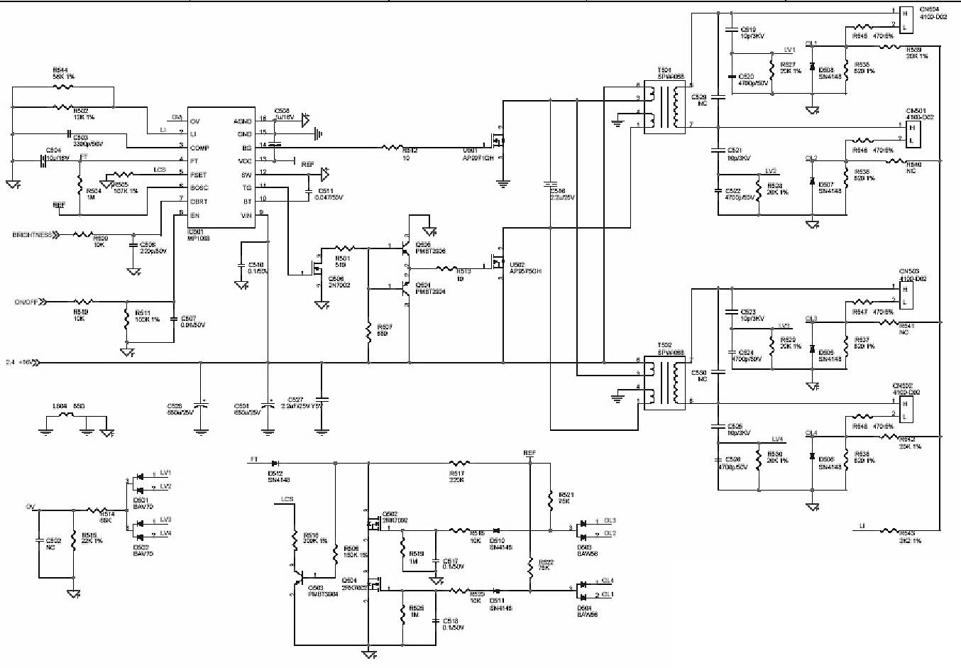 Схемы жк мониторов lg flatron