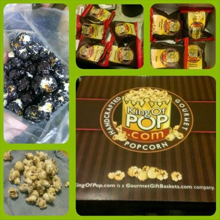 gourmet gift baskets holiday popcorn sampler