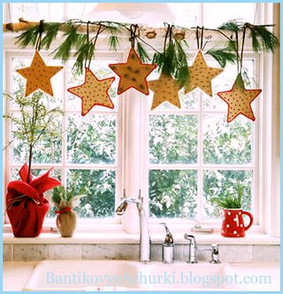 Идеи как украсить дом на новый год 2015 своими руками фото
