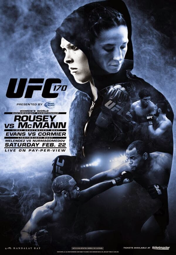 UFC 170 Rousey vs. McMann Fight Pick