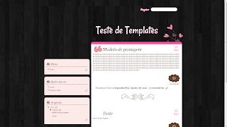template layout grátis free para garotas girls blogger